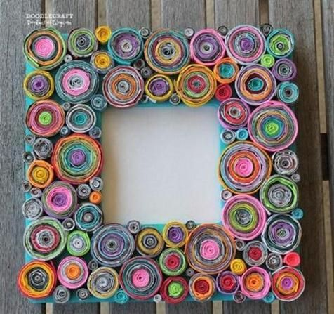 60 best Quilled Frames images on Pinterest | Frames, Paper quilling ...