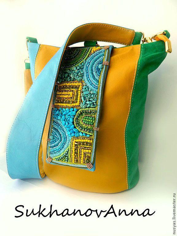 ceca62b470a4 Женские сумки ручной работы. Ярмарка Мастеров - ручная работа. Купить Сумка-рюкзак