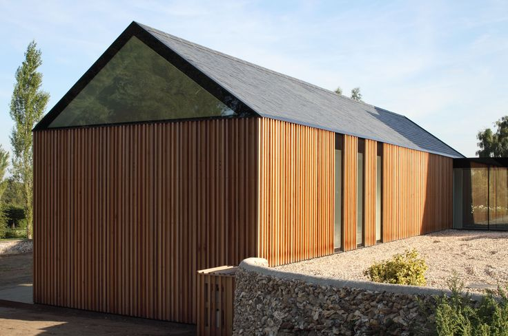 Contemporary extension De la Beche by VW+BS Architecture and Design TEXTURE