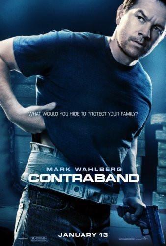 Contraband Movie Poster Standup 4inx6in