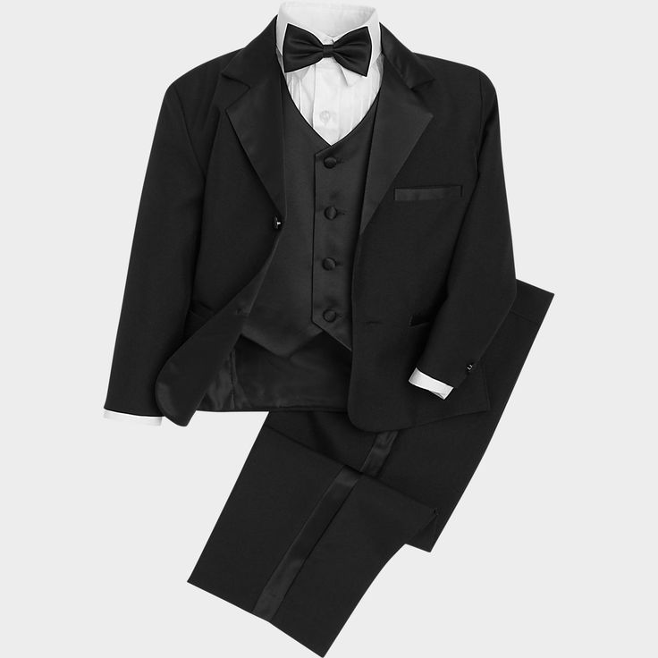 Pronto Uomo Couture Black Toddler's Tuxedo - Tuxedos | Men's Wearhouse ($69.99)