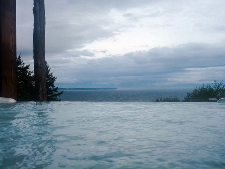 Infinity Edge Hot Tub View
