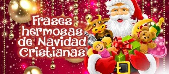Frases hermosas de Navidad Cristianas
