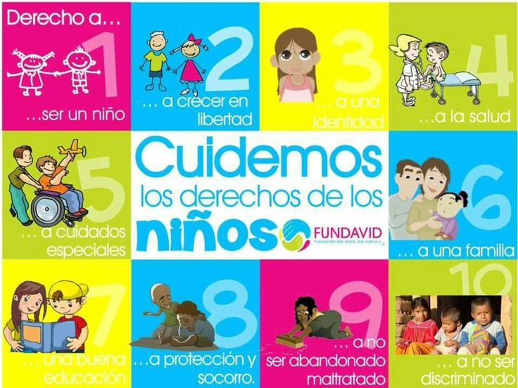 23 best derechos del ni o images on pinterest derechos ni os el derecho y derechos de la infancia - Grado superior de jardin de infancia ...