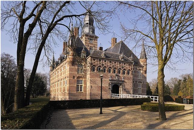 Het Kasteel van Wijchen - my hometown.   A castle in a place called Wijchen, The Netherlands