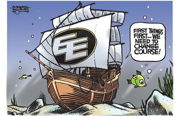 Malcolm Mayes cartoon - August 15