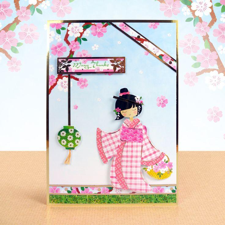Garden Geishas - Hunkydory   Hunkydory Crafts
