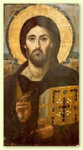 Christ Pantocrator from St. Catherine's Monastery