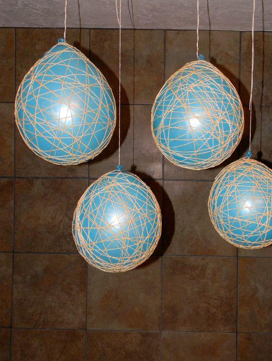 How to make string lanterns