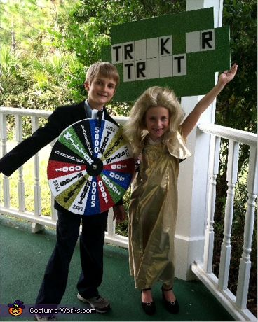 Wheel of Fortune! - DIY Halloween Costumes for Kids