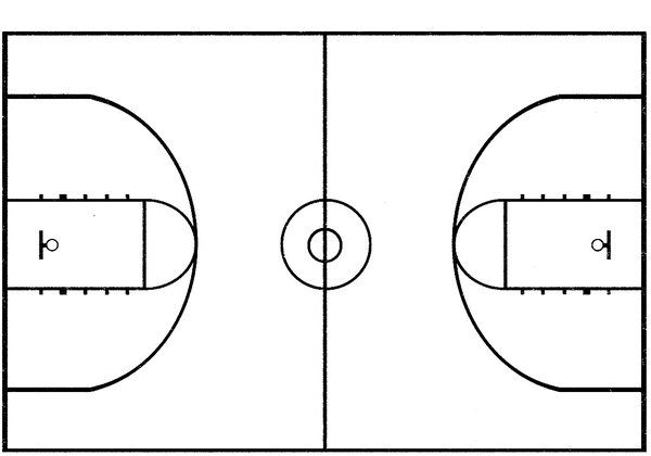 basketball court coloring page - basketball coloring pages picture sports hagio graphic