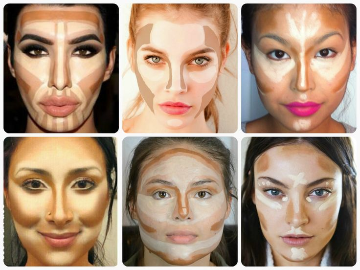 facial contour #contourtutorial #contouring #highlighting #makeup