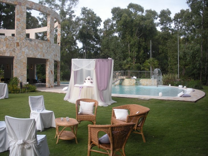 Allestimento lounge  - Paola Repetto Consoli - area relax Wild Duck