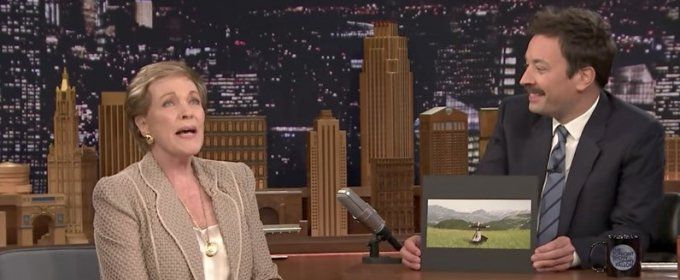 VIDEO: Julie Andrews Reveals Secrets Behind Filming of Iconic SOUND OF MUSIC Hilltop Scene: #julieandrews