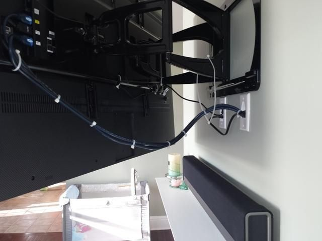 Falt Screen TV mounted & Wi-Fi SONOS Sound System | Croton, NY | DTV Installations