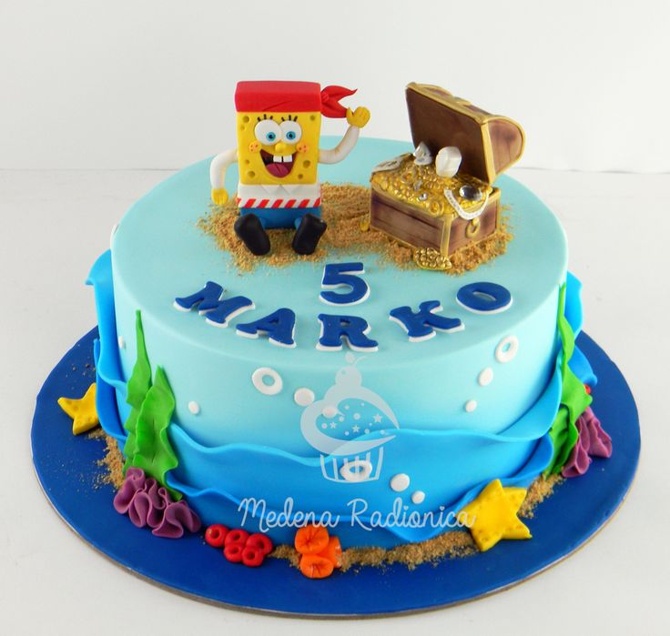 Sponge Cake Decoration Images : Best 25+ Sponge bob cake ideas on Pinterest Spongebob ...