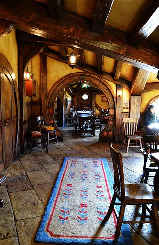 Hobbit Homes  Interior Green Dragon | by Yes to Adventure