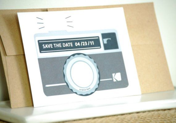photography themed wedding invitations!! how perfect!