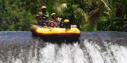 bali rafting - bajing dam
