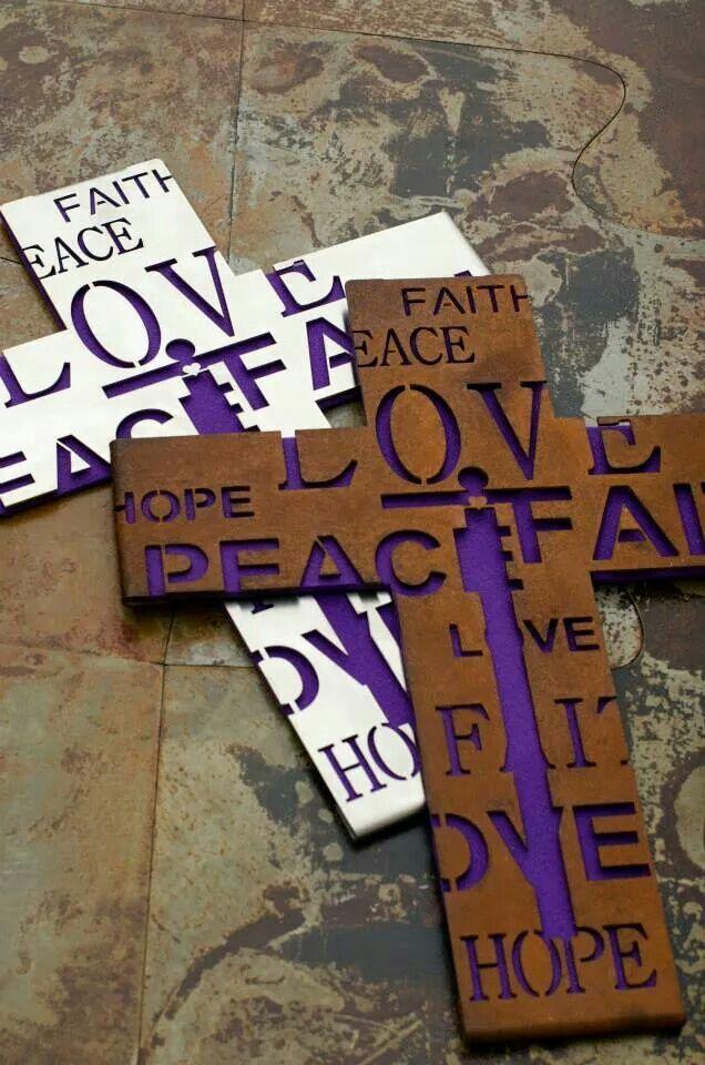 Croix de Coeur N ° 3 in acciaio Corten e acciaio Inox - in Corten Stahl und Edelstahl #kruzifix #ostern #design #kunst #deko #crocefisso #arte #deco