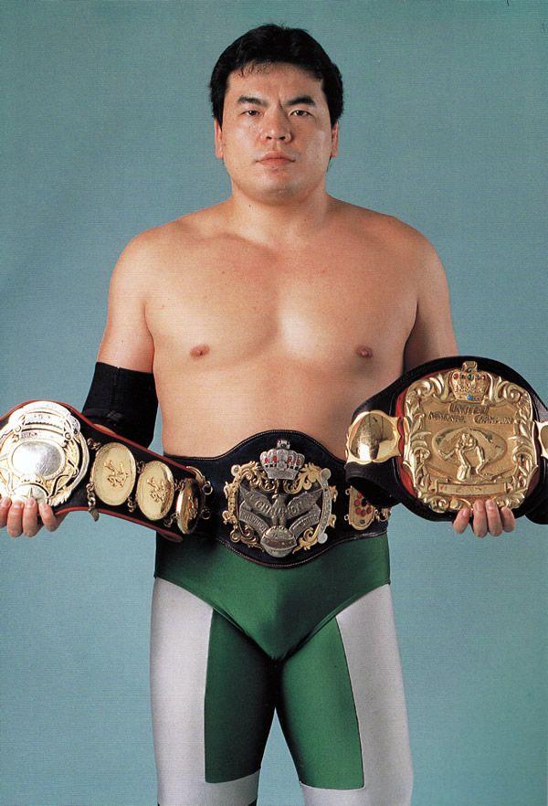 第10代、第14代、第17代、第20代、第23代王者 三沢光晴 Triple Crown Heavyweight Championship AJPW 全日本プロレス