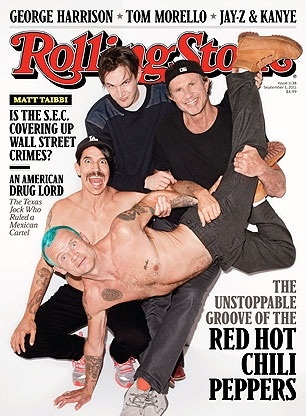 RHCP. I love Josh, but there will never be a guitarist like John F. <3
