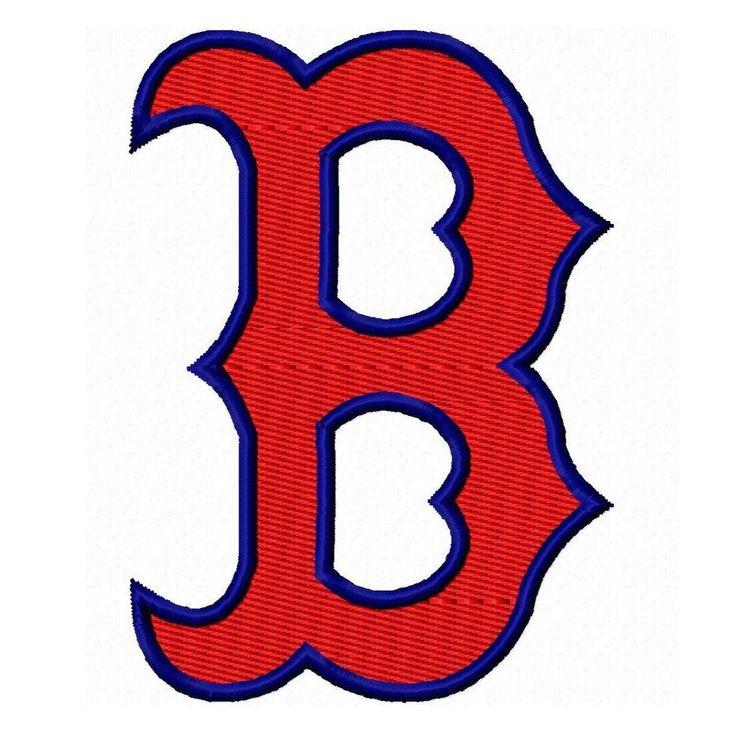 Boston B Solid Fill Machine Embroidery Design by BubbaDubDesigns, $5.00