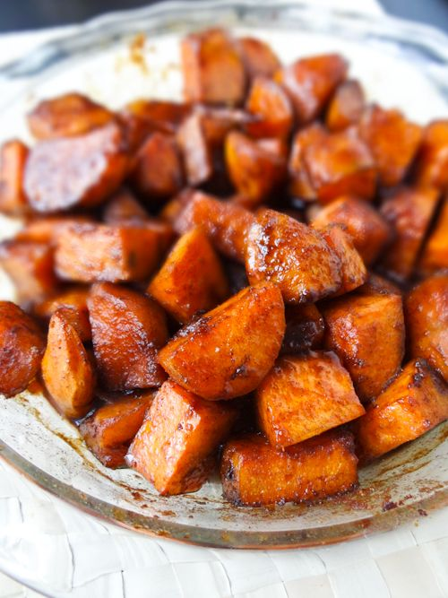 how to cook yams for baby food