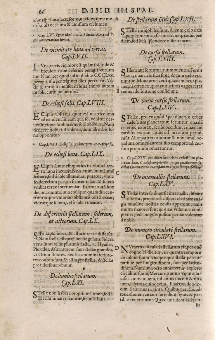 "A.3 S.XVI Lámina del libro "" OPERUM DIVI ISIDORI HISPAL. EPISCOPI: PARS ALTERA"" http://absysnetweb.bbtk.ull.es/cgi-bin/abnetopac01?TITN=280561"