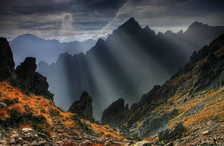 High Tatras - spectacular mountains in Slovakia, central Europe. Photo by Jakub Polomski, via 500px