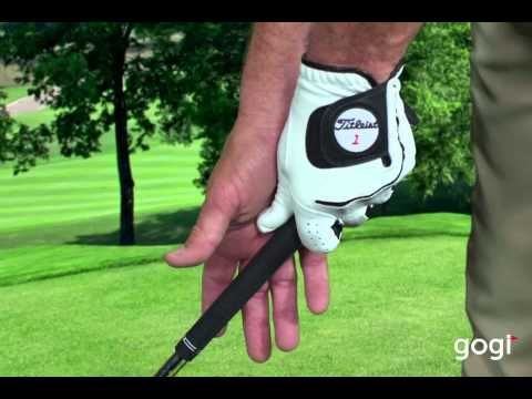 Golf Basics - the Grip: Todd Anderson at www.mygogi.org #Golf #TheGrip