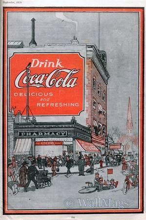 Coca-Cola | Retro advert | #CocaCola #USA #Vintage #Ads #Retro #deFharo #Publicidad #50s #60s #70s #80s #Cola #Enyoy #Posters