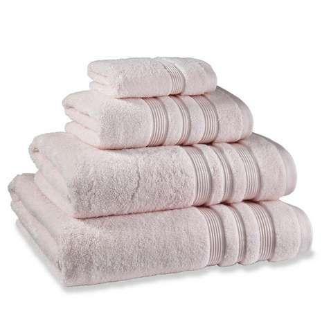 Sakura Pink Cotton Towel | Dunelm