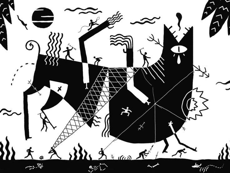 Hunt // Canavarz Screenprint Exhibition