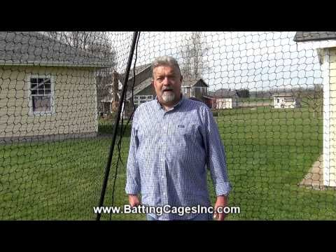 Check Out Our Latest Review Video Of Our Economy Batting Cage! @Shanna  Mccoy Roberts