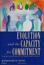Evolution and the Capacity for Commitment (Russell Sage Foundation Series on Trust) Hardcover ? Import 1 Nov 2001