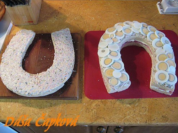 Slaný dort - podkova 6
