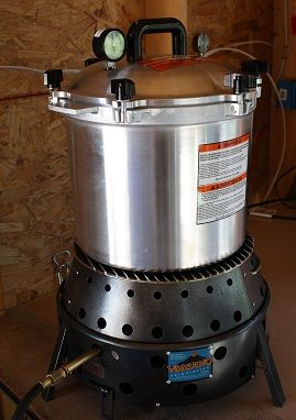 volcano grill pressure canning
