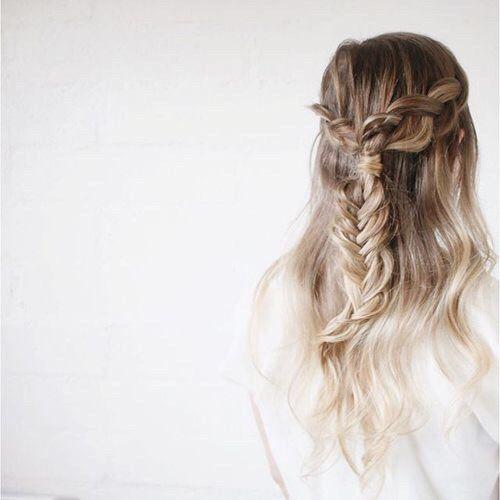 Loose Braids Hairstyles: 487 Best Hair Images On Pinterest