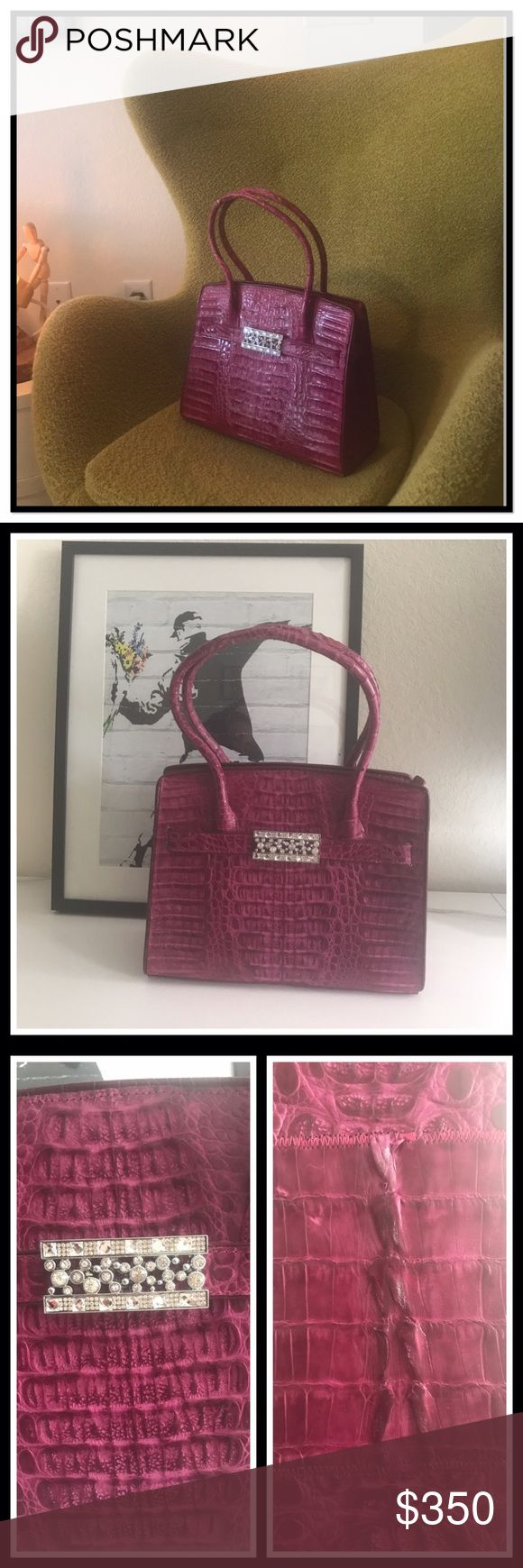 newluxury genuine crocodile leather handbag luxury alert high