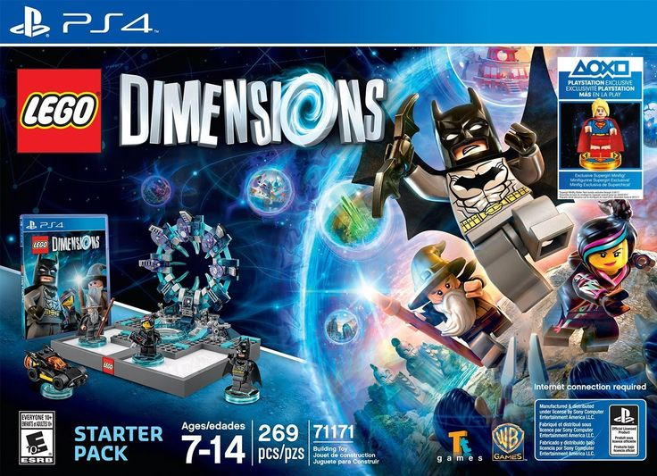 Supergirl LEGO Dimensions Starter Pack   PS4 NEW RELEASE