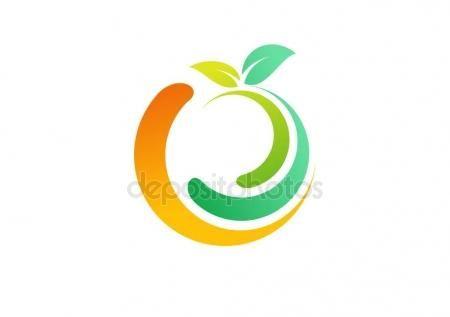 #fresh #fruit #logo #ecology #bright #food #drink #juice #orange #green #wellness #health #apple #symbol #logotype, #lemon #fruits #icon #vector #design #circle #global #ideas #diet #freshness - https://depositphotos.com/portfolio-3904401.html?ref=3904401