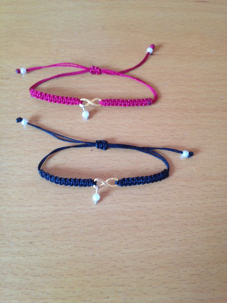 ...To infinity and beyond ...  Bracelets !