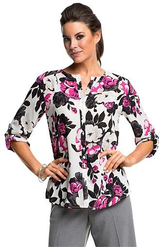 Women's Tops - Emerge Suiting Blouse