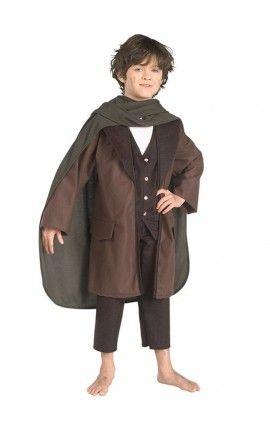 Disfraz de Frodo Bolsón El Señor de los Anillos para niño