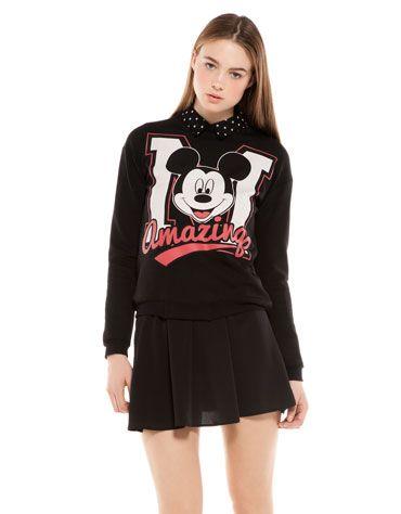 Bershka United Kingdom - BSK Mickey blouse
