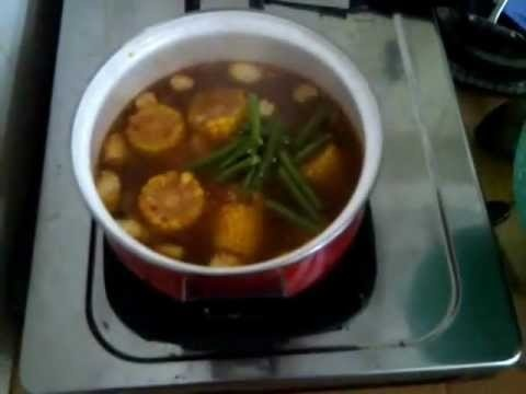 Cara Memasak Sayur Asem  ( How to Cook Indonesian Sour Soup )