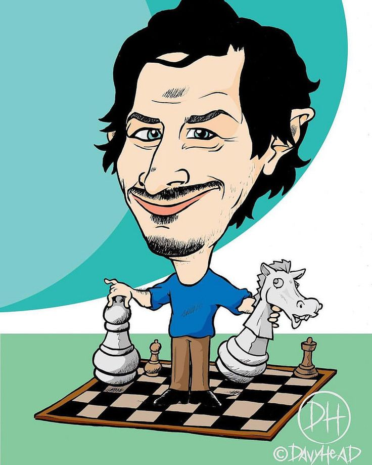 Ivano. ©Davyhead #drawing #davyhead #caricature #caricatura #caricatures #caricaturas #scacchi