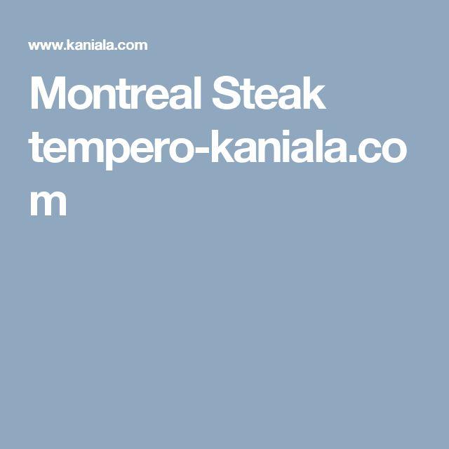 Montreal Steak tempero-kaniala.com