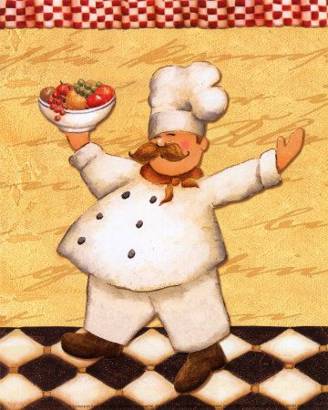 Cool site to get all sorts of posters, pictures, murals.  I love this little Chef guy!